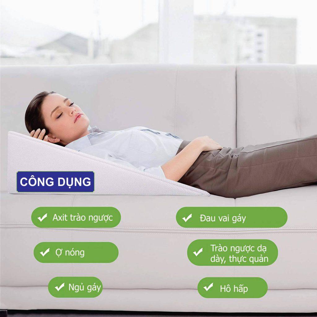 Công dụng gối giảm trào ngược dạ dày